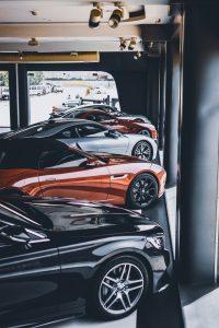 Odparkované autá